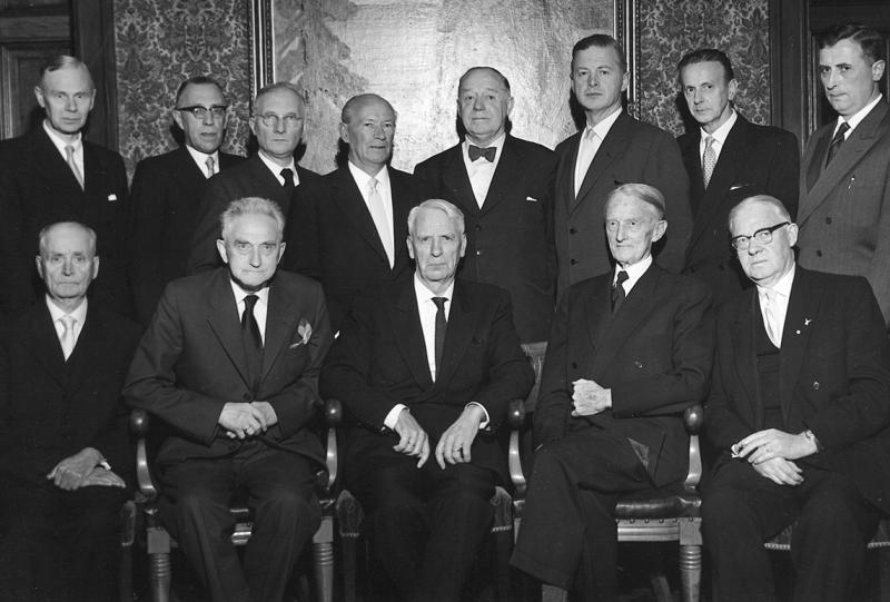 Styret i Landslaget for Bygde- og Byhistorie 1960